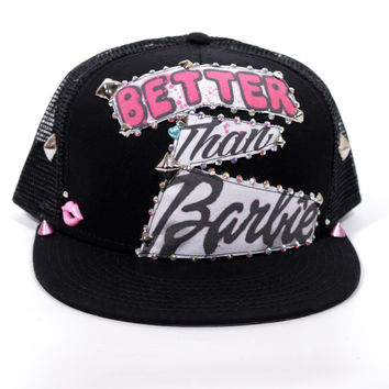 Better Than Barbie Snapback Hat