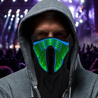 Mortal Combat Rave Light Up Mask