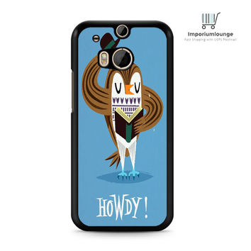 the howdy owl For HTC One M7 M8 | M9 Case