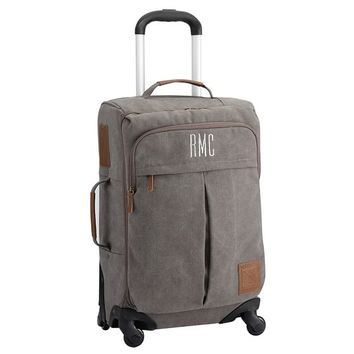 Northfield Solid Charcoal Carry On Spinner