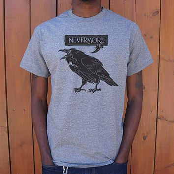 Nevermore Raven [Edgar Allan Poe Inspired] Men's T-Shirt