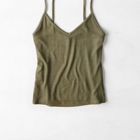 AEO Women's Ribbed V-neck Cami
