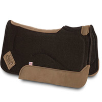 WESTERN SADDLE PAD IMPACT GEL CONTOUR .75 INCH-Big Dee's Tack & Vet Supply