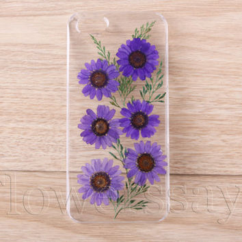 iPhone 6 case iPhone 6 plus Pressed Flower, iPhone 5/5s case, iPhone 4/4s case,  5c case Galaxy S4 S5 Note 2 note 3 Real Flower case NO:F27
