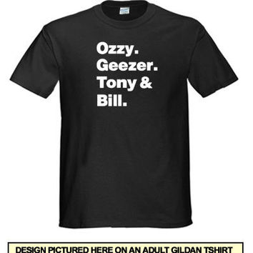 Black Sabbath T-Shirt ozzy osbourne t shirt cool tshir t shirt Tee Shirt (also available on crewneck sweatshirts and hoodies) SM-5XL