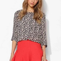 Pins And Needles 3/4 Sleeve Swing Top-