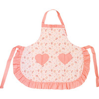 My Melody ruffle apron flyer pink ☆ Disney adult apron series ★