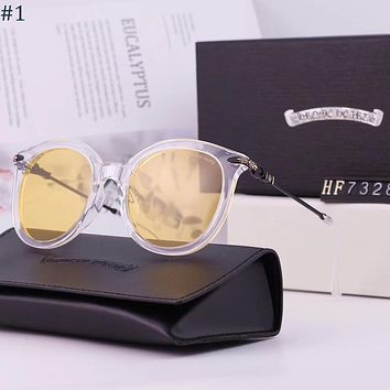 Chrome hearts 2018 new trend female color film polarized sunglasses #1