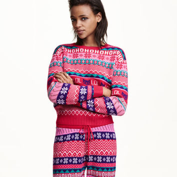 Knit Christmas Sweater - from H&M