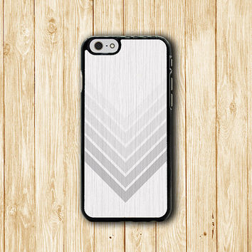 White Geometric Chevron Wood iPhone 6 Cover, Minimal Style iPhone 6 Plus, iPhone 5 / 5S iPhone 5C Cases iPhone 4/4S Accessory Grey Rubber