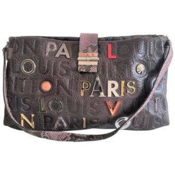 PEAPYD9 Louis Vuitton Lutece Shoulder Bag in Monograme Collage, Limited edition LV Purse