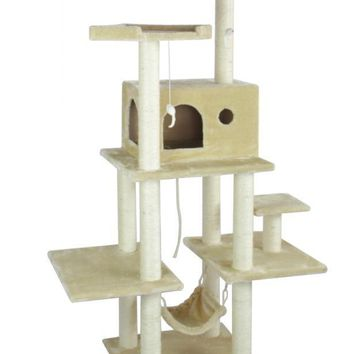 "All color New BestPet 70"" Cat Tree Condo Furniture Scratch Post Pet House 5111"
