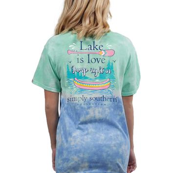 Simply Southern Lake Is Love Tee