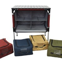 Camp Chef Sherpa Camp Table and Organizer (Brick)