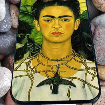 Frida Kahlo poster for iPhone 4/4s/5/5S/5C/6, Samsung S3/S4/S5 Unique Case *95*