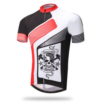 Summer Short Sleeve Bicyclex Outdoors Permeable Quick Dry Tops [6581711495]