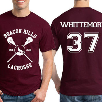 Whittemore 37 CROSS Beacon Hills Lacrosse Teen Wolf Unisex Shirt - RT20
