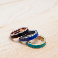Pamela Love Inlay Stack Rings