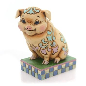Jim Shore What's The Pig Idea? Figurine