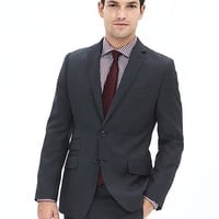 Banana Republic Mens Modern Slim Navy Wool Suit Jacket