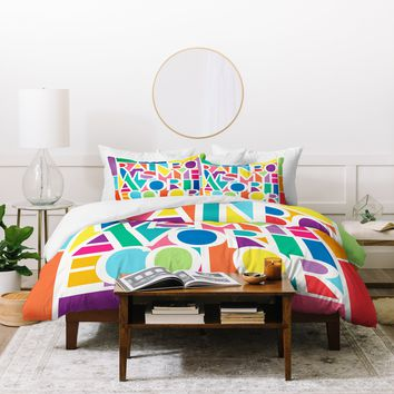 Jacqueline Maldonado My Favorite Color Duvet Cover
