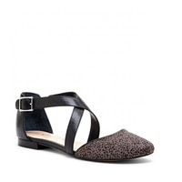 Sole Society Carmelle Strappy Round Toe Flat