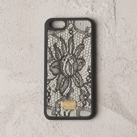 LACE PRINT IPHONE 5 HARD CASE Women's Smartphone Case | Dolce&Gabbana Online Store