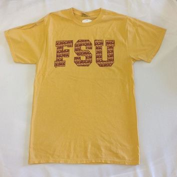 ONETOW NCAA Florida State Seminoles Gold T-Shirt