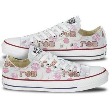 ONETOW Gamma Phi Beta Converse Carnation Moon Low Top