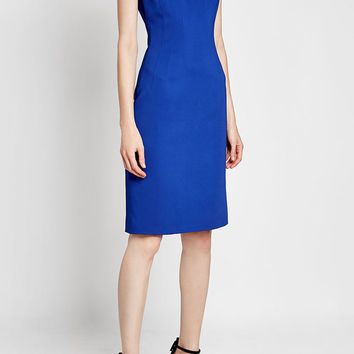 Dress with Cut-Out Detail - Versace | WOMEN | US STYLEBOP.COM