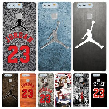 jordan 23 Cover phone Case for huawei Ascend P7 P8 P9 P10 lite plus G8 G7 honor 5C 201
