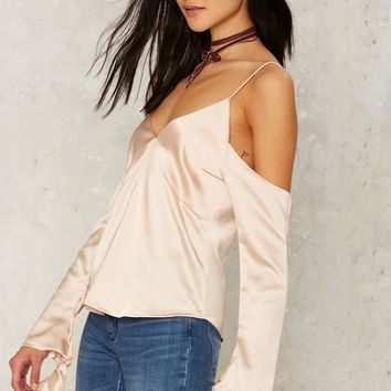 Odette Satin Blouse