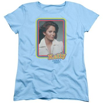 Charlies Angels - Kelly Portrait Short Sleeve Women's Tee