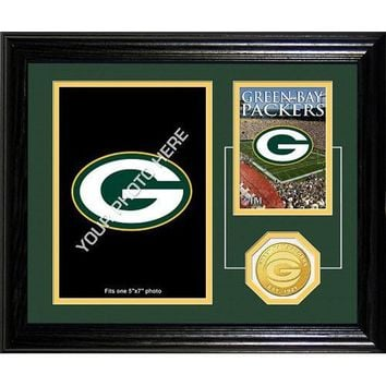 Green Bay Packers Framed Memories Desktop Photo Mint
