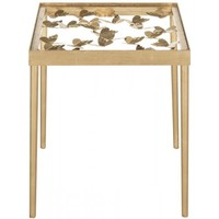 Rosalie Butterfly Side Table by Safavieh | FOX2594A | Safavieh - Truth In Craft