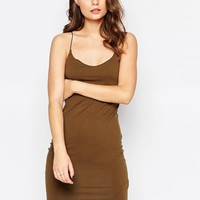 New Look Strappy Jersey Bodycon Dress