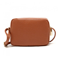 Brown Mini Shoulder Bag