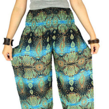 Hippie clothes Gypsy pants  Elephant pants Thai pants Palazzo pants Hippie pants Harem pants Elephant clothes