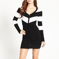Naeli Chevron Sweater Dress