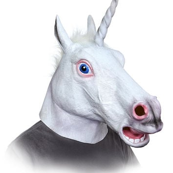 The Unicorn Head Mask