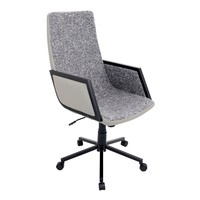 Governor Office Chair Black, Tan