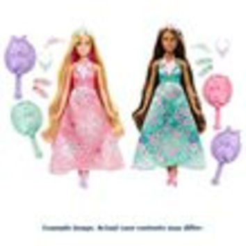 Barbie Dreamtopia Color Styling Princess Case