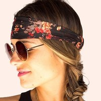 Gibson Girl Hair Wrap