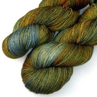 Euro Fingering Yarn - Grains of Plenty, 750 yards/150 grams | JulieSpins - Fiber Arts on ArtFire