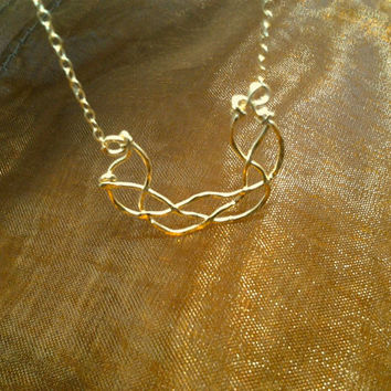 Gold or Silver, 3 best friend braided Necklace, Three, together forever necklace, Mother's Day, jewelry, Mom of 2 - 3, sisters, Triplets,