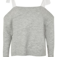 Bow Shoulder Softy Jumper - New In Fashion - New In