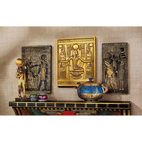 Park Avenue Collection S/3 Egyptian Temple Stele Plaques