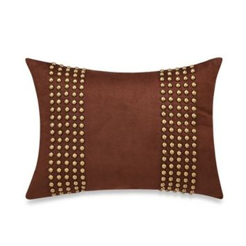 Raymond Waites Monteray Suede Oblong Toss Pillow