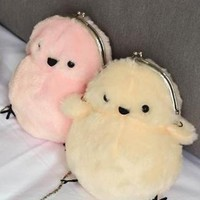 Fluffy Chick Purse
