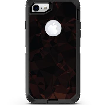 Dark Geometric V1 - iPhone 7 or 8 OtterBox Case & Skin Kits